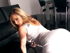 Alexis Texas, blond, solo, groot gat, terg, babe, dans, softcore, nabyskoot, pornstêr