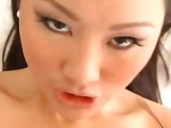 shaved, stockings, asian, petite, riding