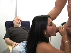 oral, brunette, wife, milf, blowjob