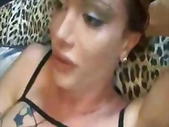 transvestiet, dame, shemale, ladyboy, monsterpiel