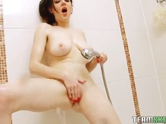 solo, boobs, amateur, shaved, fingering