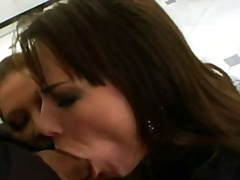 blowjob, job, groupsex, share, cock, stockings, 3some, threesome, anal, blow