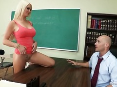 skool, hard, bj, uniform, blond