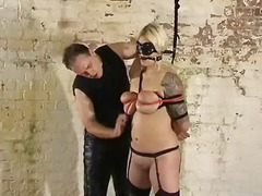 bdsm, nylon, blond, fetish