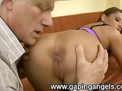 ass, rimming, couple, big